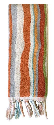 Trellis Stripe - Dena Kaiya Trellis Stripe Hand Towel
