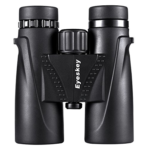 Eyeskey 10X42 Binoculars for Adults and Kids-Prism Film Optics, Tripod Capable, Waterproof and Fogproof, More Bright, Great for Hunting/Camping/Hiking/Golf/Concert/Surveilla