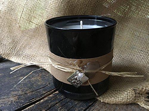 Handmade Lotus Candle, Crystal Quartz Gemstone, Balance | Spiritual | Peace, Reiki Charged, 11Oz. ()