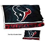 WinCraft Houston Texans Double Sided Allegiance Flag Review