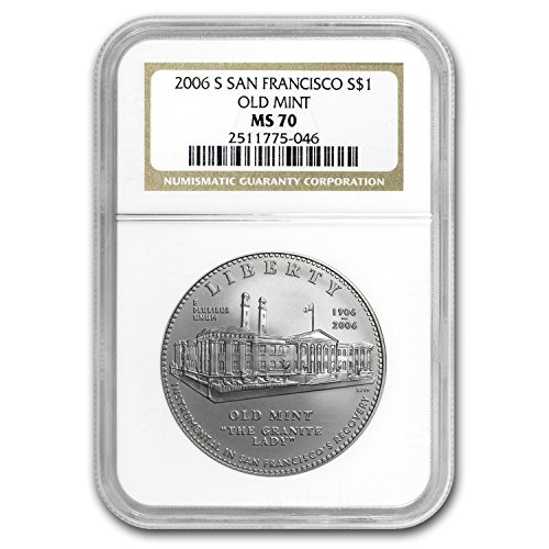 2006 S San Francisco Old Mint $1 Silver Commem MS-70 NGC Silver MS-70 NGC
