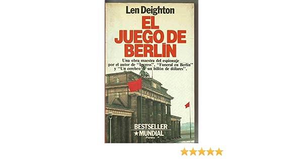 Juego de Berlín, el: Amazon.es: Deighton, Len: Libros en idiomas extranjeros