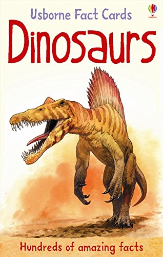 Dinosaurs (Usborne Fact Cards) by Clarke, Phil (2011) Cards