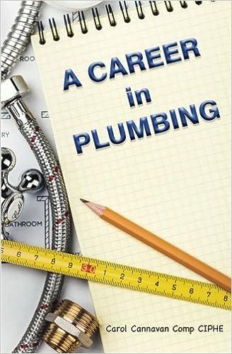 A Career In Plumbing Amazoncouk Carol Cannavan 9781518688126 Books