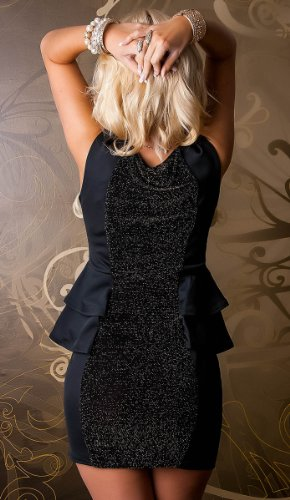 italy gownplanet - Robe -  Femme Noir Noir