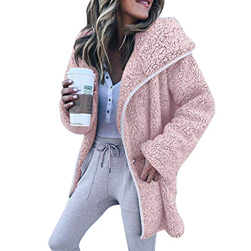 LISTHA Hooded Cardigan Women Sweater Jacket Hooded Coat Casual Long Sleeve Top