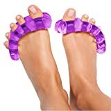 Original YogaToes - Small Purple: Toe Stretcher & Separator. Fight Bunions, Hammer Toes, Foot Pain & More!