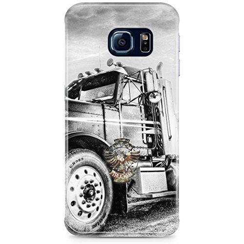 Phone Case For Apple iPhone 5C - American Trucker Back Wrap-Around