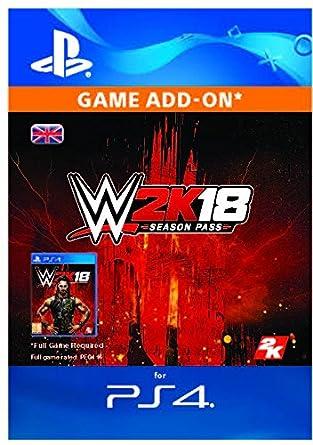 WWE 2k18 - Season Pass DLC | PS4 Download Code - UK Account: Amazon