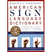 Image for American Sign Language Dictionary (Turtleback Binding Edition)