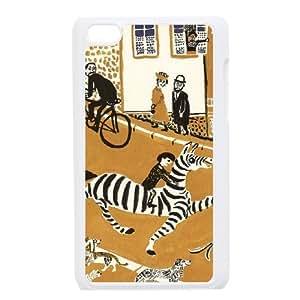 zebra kids arts Ipod Touch 4 Case White