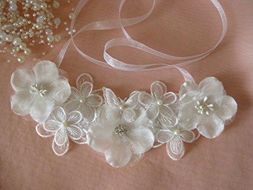 15 Yards Total 100/% Cotton Black Flower Lace Trim Applique Sewing DIY Craft Make Clavicle Necklace Bracelet Anklet 3 Rolls 5 Yards Each