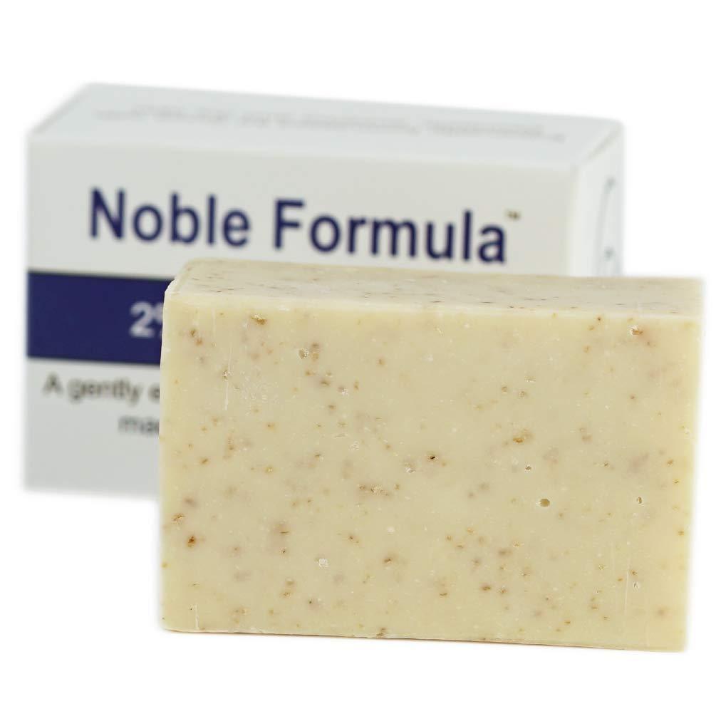 Noble Formula 2% Pyrithione Zinc (ZnP) Original Emu Bar Soap, 3 oz each, (3 Bars in 1 Box), Total 9 oz