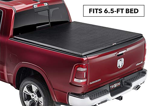 "TruXedo TruXport Soft Roll-up Truck Bed Tonneau Cover | 286901 | fits 2019 Ram 1500 New Body Style 6'4"" Bed"