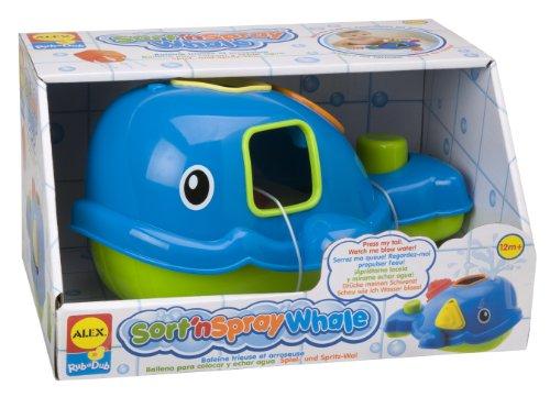 ALEX Toys Rub a Dub Sort 'n Spray Whale