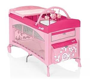 Brevi Dolce Sogno - Cuna (Cuna de bebé, 4 año(s), Rosa, 6 leg(s), Niño/niña, Monótono)