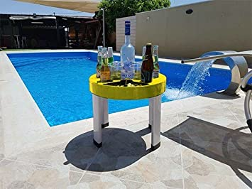 T Bar Portable Bar Set U2013 Floating Bar Perfect For Beach, BBQ, And
