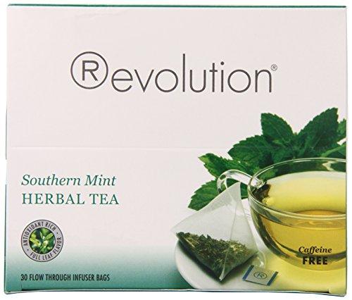 Revolution Tea Southern Mint Herbal Tea, 30 (Revolution Mint)