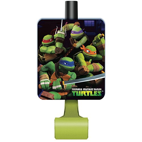 Teenage Mutant Ninja Turtles Party Blowers, 8ct