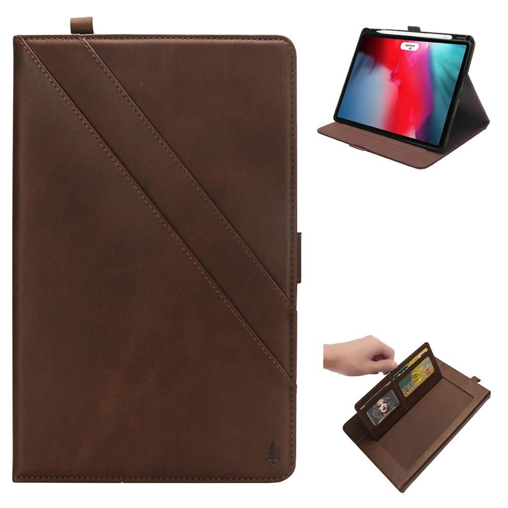 品質のいい AMASELL-A iPad Pro 11インチ(2018)用ケース [充電サポート] 超薄型プレミアムレザーフォリオカバー iPad Pro AMASELL-A 11インチ用 ブラウン iPad [内蔵ダブルキックスタンド] ペンスロットとカードスロット付き ブラウン ブラウン B07L88YBC9, 大津町:24ca32a7 --- a0267596.xsph.ru