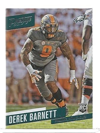 c5381196eb4 Amazon.com  2017 Prestige  237 Derek Barnett Rookies NM-MT RC Rookie ...