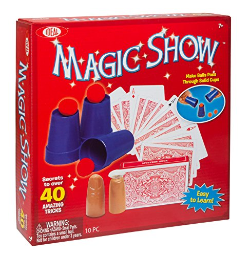 Ideal 40-Trick Magic Show Kit (The Best Magic Show)