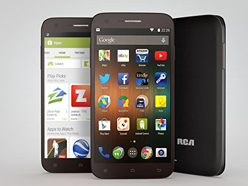 RCA G1 5.5'' Hd, Unlocked Dual Sim, 8Mp Camera, 8Gb Rom, 1Gb Ram, android 4.4 – Black by RCA (Image #5)