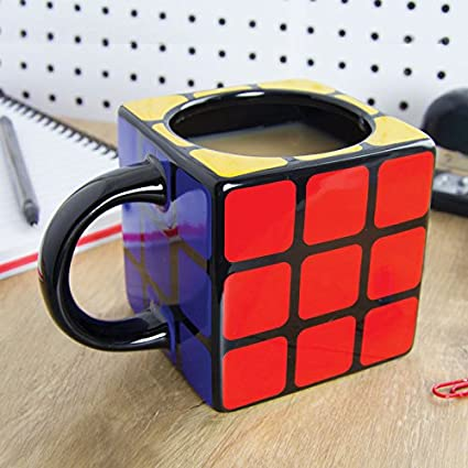 Cube Ceramic Coffee Mug