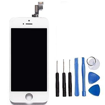 afd4cf43f9b LL TRADER Para iPhone 5S Blanco Completar Retina LCD Repuestos Pantalla Táctil  Con Digitalizador y Herramientas: Amazon.es: Electrónica