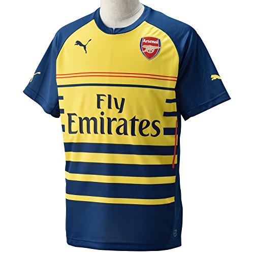 (PUMA 2014-2015 Arsenal Pre-Match Top (Yellow))