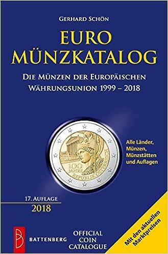 Amazonfr Euro Münzkatalog Die Münzen Der Europäischen