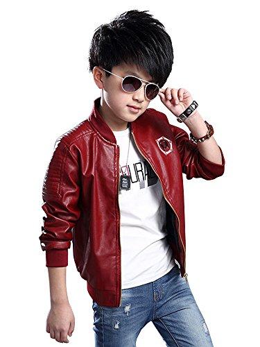 Leather Motorcyle Jacket - 5