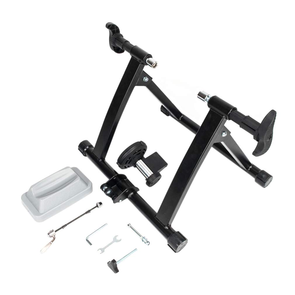 Cycling Stand Indoor Bikestand Home Gyms Bicycle Trainer with Front Wheel Cup Solid Easy to Assemble