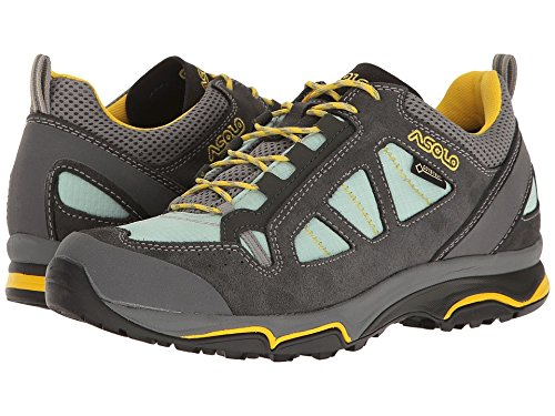 Asolo Women's Megaton GV Hiking Shoes Graphite/Poolside - 9.5