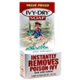 Ivy-dry Soap. Instantly Removes Poison-ivy, Oak and Sumac. 3 Bars of Soap (0.7 Oz Each) by Ivy-dry