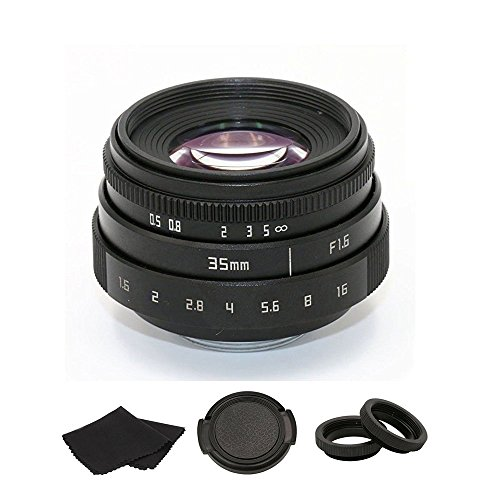 35mm F1.6 APS-C Television TV Lens/CCTV Lens For 16mm C Mount Camera