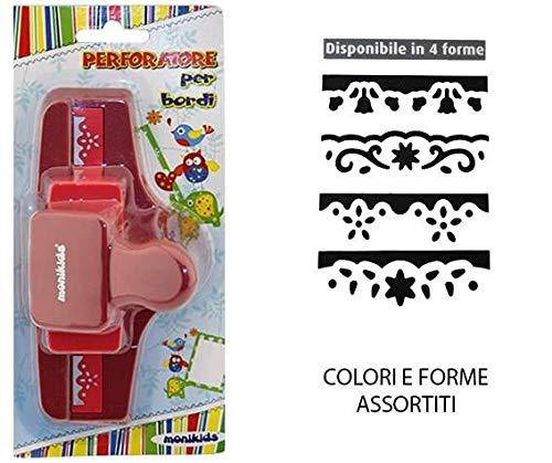 1pz Perforatrice Decorativa 50mm Per Bordi Ass