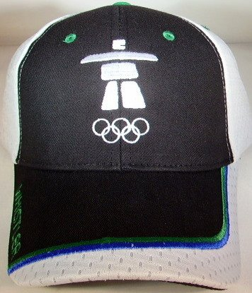 Olympic Merchandise Vancouver (2010 Vancouver Games Cap)