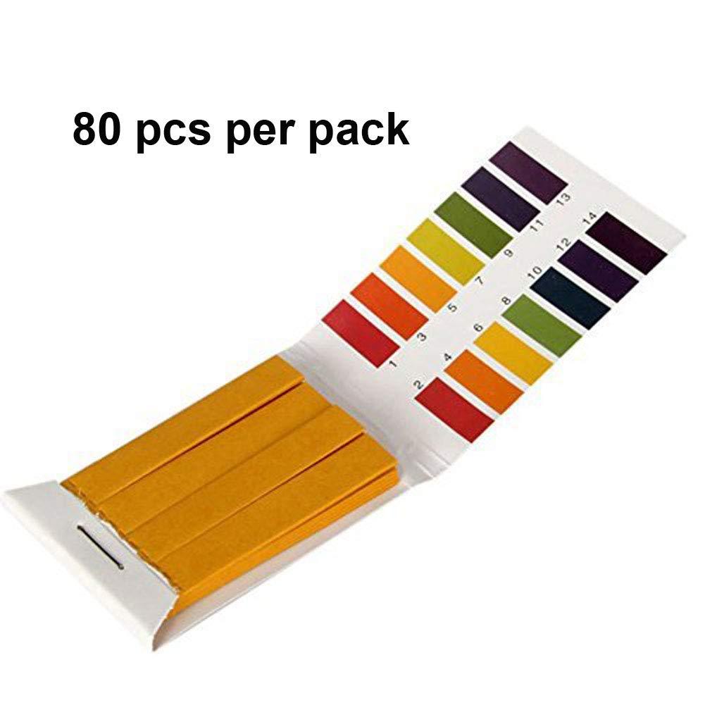 Bettli ph Test Paper-ph Strips-ph Test liquid-1-14 PH Alkaline Acid Test Paper Water Litmus Testing Kit (1 Pack)