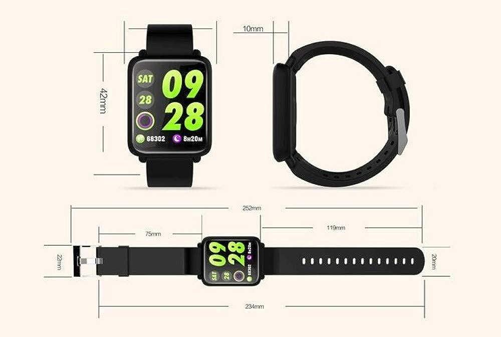 Bracelet Intelligent Podomètre De Moniteur De Fitness Étanche pour Tensiomètre Cardiaque pour Android iOS Montre Intelligente Pink