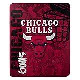 "NBA Chicago Bulls ""Hard Knocks"" Fleece Throw"