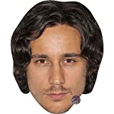 Celebrity Cutouts Peter Gadiot (Brown Hair) Big Head. Larger Than Life mask.