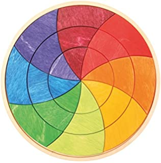 Grimmu0027s Small Circle Of Goethe   Color Wheel Wooden Mini Creative Puzzle