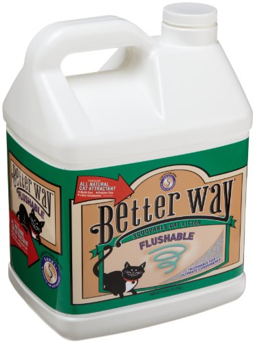 Ultra Pet Better Way Flushable Cat Litter, 12-Pound Containers (Pack of 3), My Pet Supplies
