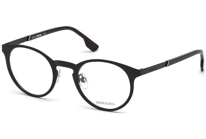 057a82a03de617 Amazon.com  Diesel Rx Eyeglasses Frames DL5200 002 48-23-145 Matte ...