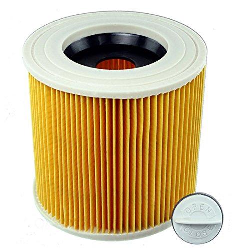 Reyee pièces faciles à # 64145520cartouche de filtre Karcher Wd2200Wd2210Wd2240Wet & Dry aspirateurs