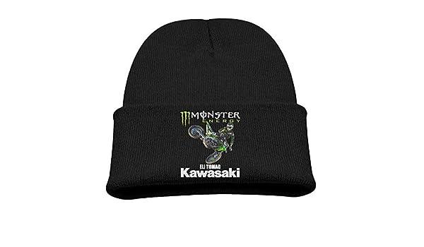 b3167b8a232 Amazon.com  WHROOER Eli Tomac  3 Motorcycle Racer Warm Winter Hat Knit  Beanie Skull Cap Cuff Beanie Hat Winter Hats Boys  Sports   Outdoors
