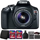 Canon EOS Rebel T6 DSLR Camera with 18-55mm Lens and Accessory Kit