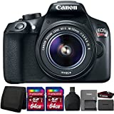 Cheap Canon EOS Rebel T6 DSLR Camera with 18-55mm Lens and Accessory Kit