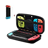 Nintendo Switch Case - Carrying Case and Tempered Glass Screen Protector for Nintendo